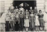 6th grade class 1st row: Mike Forster, Jimmy Rosa, Jimmy John Tedesco, Edmund Coleman, Catherine Iannello, Mary Ann Mart